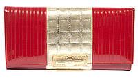 Гламурный лаковый женский кожаный кошелек высокого качества SONIA RYKIEL art.SR-5841E красн