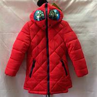 Детская зимняя куртка оптом  на девочку 122-146