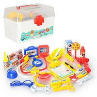 Детский игровой набор доктора 8408B-4 в чемодане