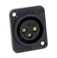 Switchcraft PD3FSC1 PKG Канон панельный мама XLR-F