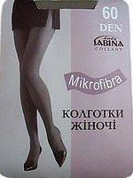 Колготки женские  «Sabina» 60 Den Microfibra Украина