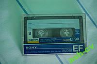 Кассета Sony SuperEF90 (Japan)