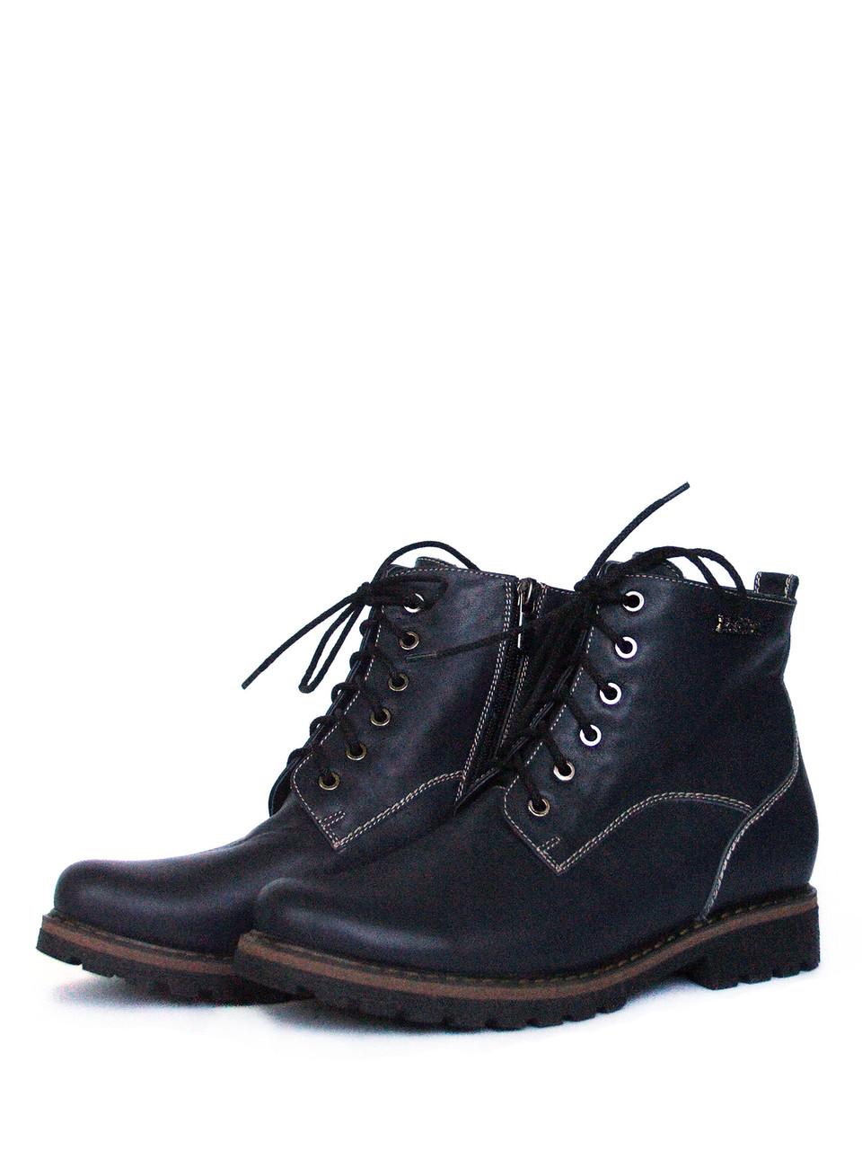 Осенние ботинки на шнуровке женские