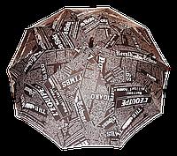 Женский зонт-трость, полуавтомат Times , фото 1