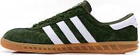 Мужские кроссовки Adidas Originals Hamburg Green, адидас
