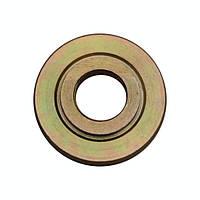 Шайба для углошлифовальной машинки (болгарки) нижняя желтая отверстие 14 мм.