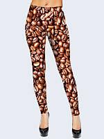 Леггинсы Кофейные зерна