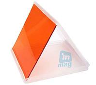 Светофильтр Cokin P оранжевый, квадратный фильтр.