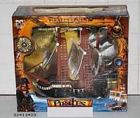 Пиратский корабль на батарейках, музыка, свет 351-2