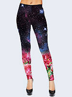 Леггинсы Space flowers