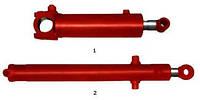 Гидроцилиндр подъема-опускания отвала  бульдозера  ДЗ-130 16 ГЦ 80/50.710