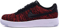 Мужские кроссовки Nike Air Force 1 Low Ultra Flyknit Red, найк, аир форс