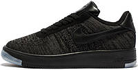 Мужские кроссовки Nike Air Force 1 Ultra Flyknit Low Men DimGray Black, найк, аир форс
