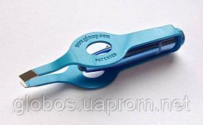 Пинцет для бровей с подсветкой Р056 blue, фото 2
