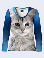 Лонгслив Кошка