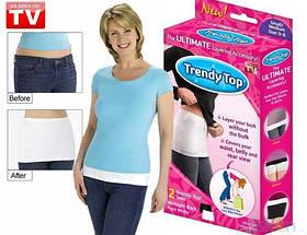 Невидимый корректирующий пояс Trendy top (Тренди Тор) 2 пояса в комплекте.., фото 2