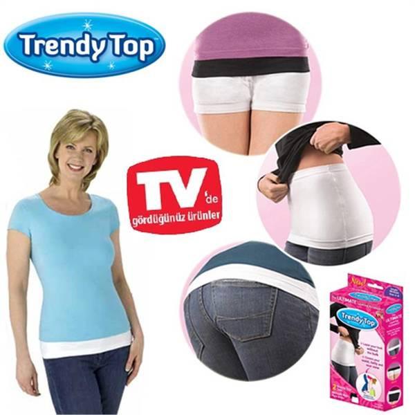 Невидимий коригуючий пояс top Trendy (Тренди Тор) 2 пояса в комплекті..