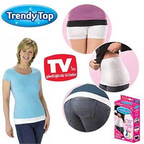 Невидимий коригуючий пояс top Trendy (Тренди Тор) 2 пояса в комплекті.., фото 2
