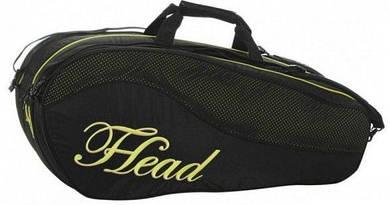 Черная сумка-чехол для большого тенниса на 8 ракеток 283064 Maria Sharapova Tennis Racquet Bag-Combi HEAD