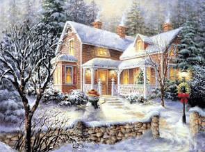 Набор алмазная мозаика Родной дом