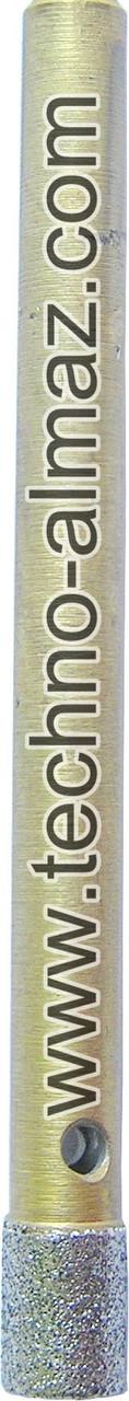 Алмазное сверло D 4 мм