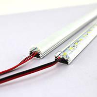 Cветодиодная лента на алюминиевой основе 12V 25см 5730SMD белая