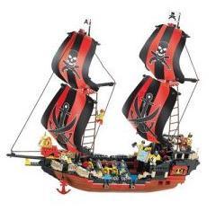 Конструктор SLUBAN Пиратская серия 632 деталей