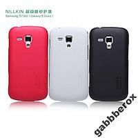 Чехол Nillkin для Samsung Galaxy S Duos S7562 (белый) + пленка