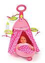 Игровой набор по уходу за куклой раскладной чемодан Smoby Baby Minnie Maus 24207, фото 2
