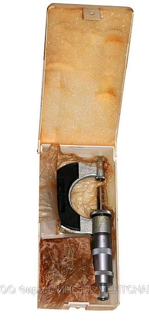 Микрометр резьбовой МВМ-25 (0-25 мм), со вставками