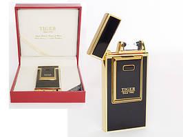 Электрическая USB зажигалка Tiger- Премиум подарок
