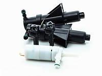 Омыватель фар телескопический струйный с двойной форсункой Hella 8WT008549201 D 90мм/100мм