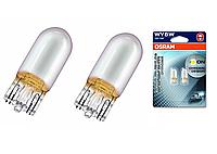 Автолампа ук. OSRAM 2827DC-02B Diadem Chrome WY5W 12V W2,1X9,5D 10X2 Blister