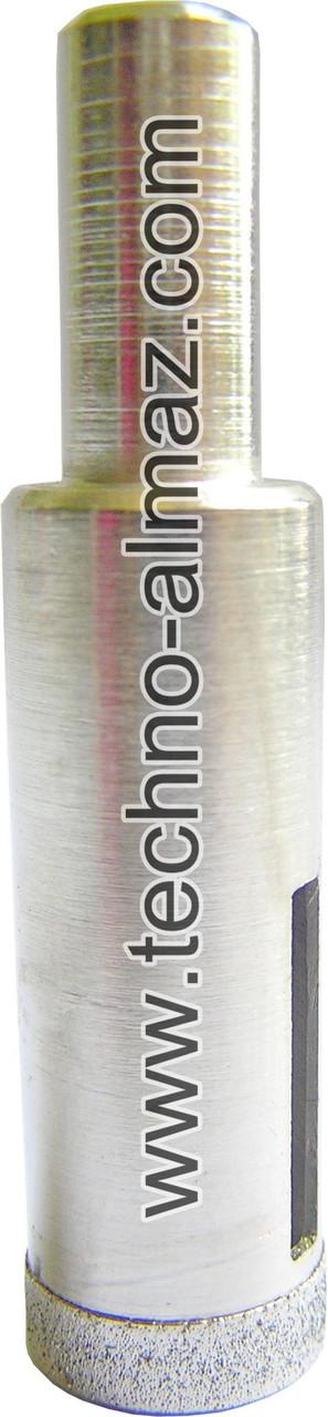 Алмазное сверло D 16 мм