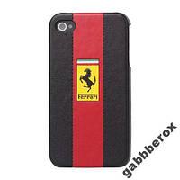 Чехол Ferrari для iPhone 4 4s с мелким браком