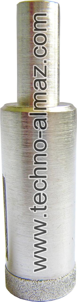 Алмазное сверло D 18 мм