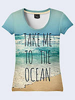 Футболка Take me to the Ocean