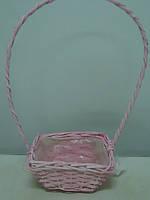Корзина прямоугольная пастель, фото 1