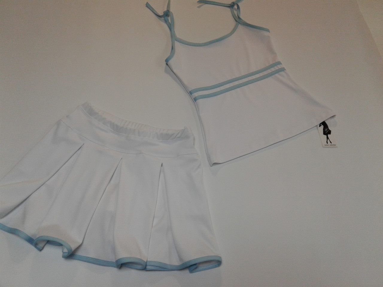 Майка + юбка-шорты (теннис)