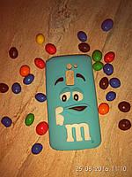 Чехол резиновый M&Ms на телефон для LG G2