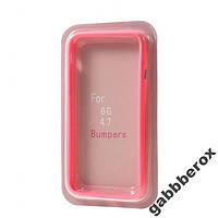 Бампер TPU+PC гибрид для Apple iPhone 6 4.7