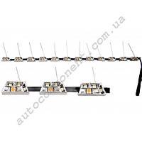 Ходовые огни DRL-NS-2024 12 диодов, безкорпусный, с функцией дублирования поворота, длина 51,5 см