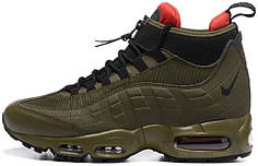 Мужские кроссовки Nike Air Max 95 Sneakerboot Green, найк