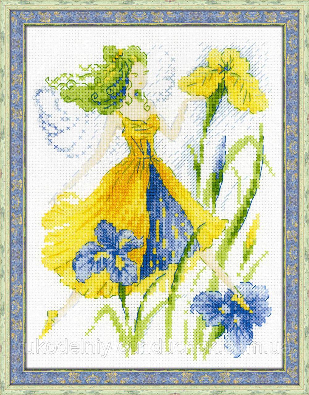 Набор для вышивания крестом «Фея солнечного дня» (1563)