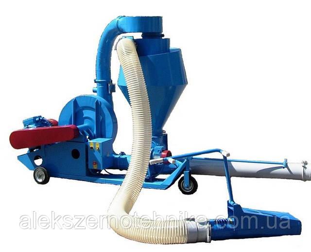 Пневматический транспортер зерновых  ПТЗ-50 (для легких и засоренных фракций)