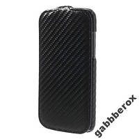 "Флип-чехол ""карбон"" для HTC Desire 500"