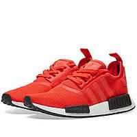 Оригинальные  кроссовки Adidas NMD_R1 Red & White
