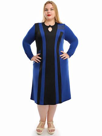 Женское платье больших размеров  недорого