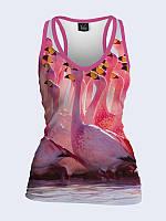 Майка-борцовка Flamingo