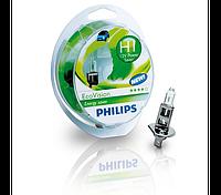 Автолампа PHILIPS 12258ECOS2 55W 12V P14,5s H1 EcoVision